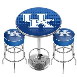 NCAA Game Room Combo Pub Table
