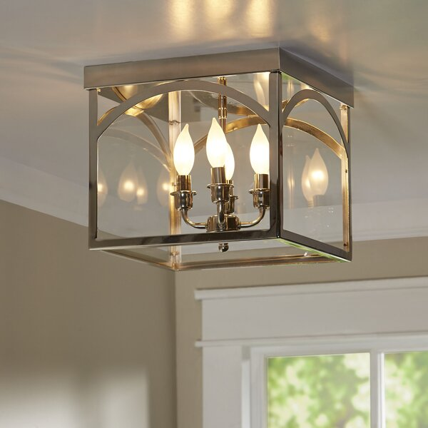 Laurel Foundry Modern Farmhouse Mount Airy 4 Light Flush