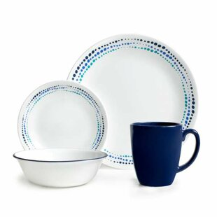 Livingware 16 Piece Dinnerware Set Service for 4  sc 1 st  Wayfair & Real Simple Dinnerware   Wayfair