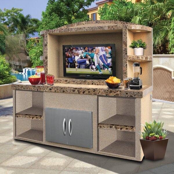 Entertainment Bar Furniture: Freeport Park Cristina Outdoor Entertainment Center