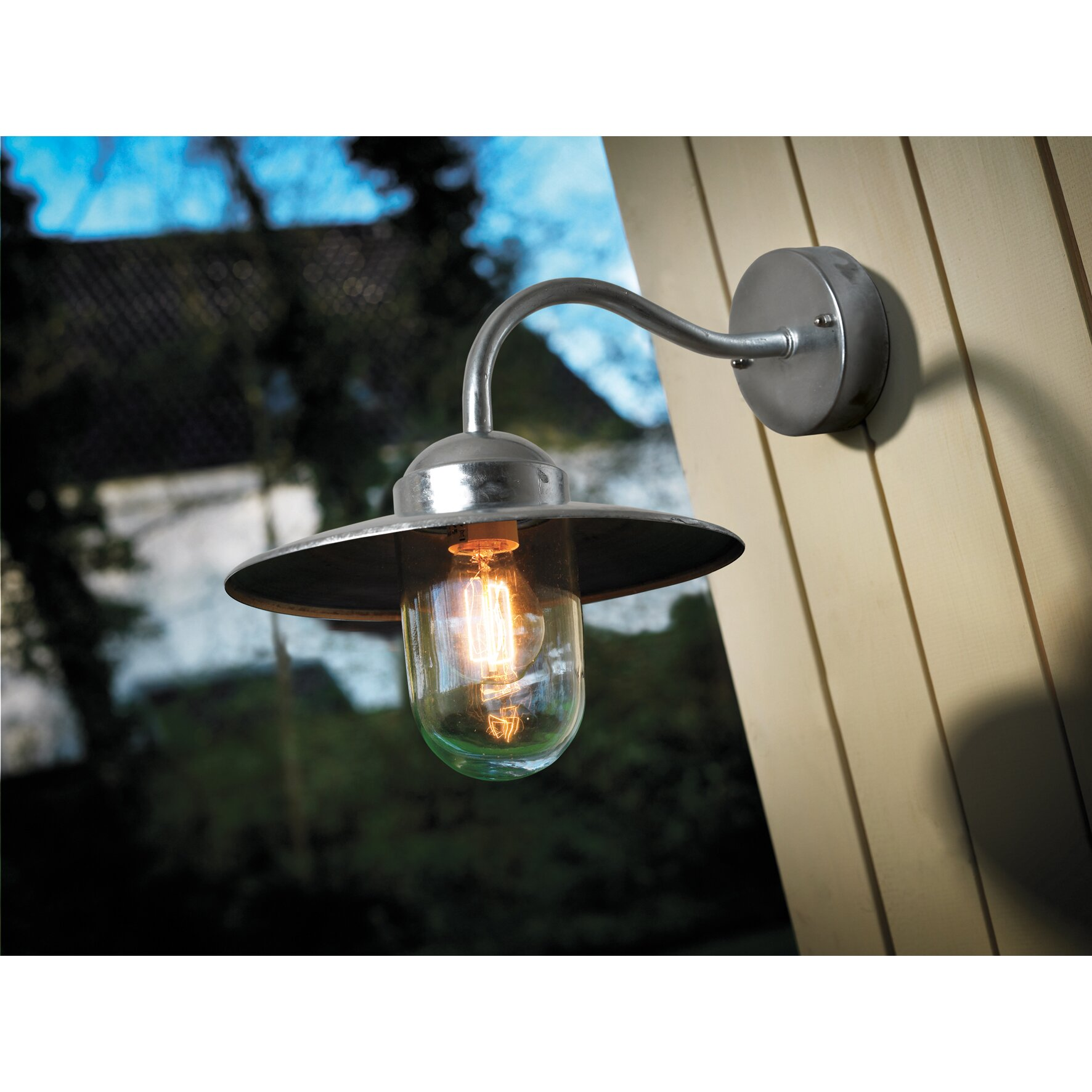 Nordlux Luxembourg Outdoor Wall Light With Pir Sensor Black : Nordlux Luxembourg 1 Light Outdoor Fisherman Light & Reviews Wayfair.co.uk