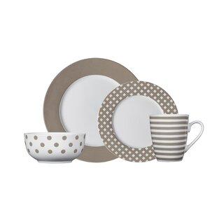 Pfaltzgraff Cream Pattern Dinnerware | Wayfair