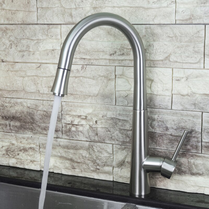 Y Decor Luxurious Single Handle Pull Down Kitchen Faucet Reviews