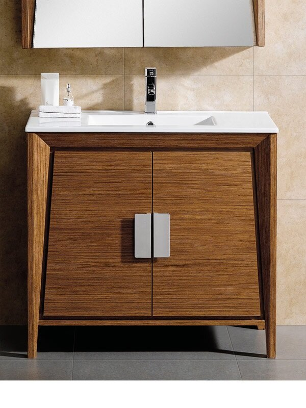 Langley Street Emerson Single Bathroom Vanity Set Reviews - Bathroom vanities overland park ks