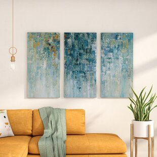 Genial U0027I Love The Rainu0027 Acrylic Painting Print Multi Piece Image On Gallery  Wrapped Canvas