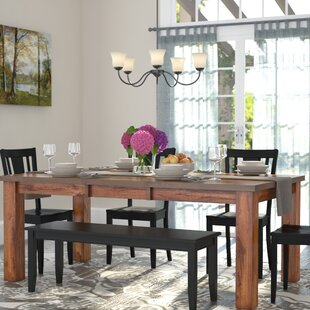 narrow dining table for small spaces thin burgess extendable dining table kitchen tables youll love wayfair