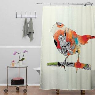 Herkimer Little Bird Single Shower Curtain