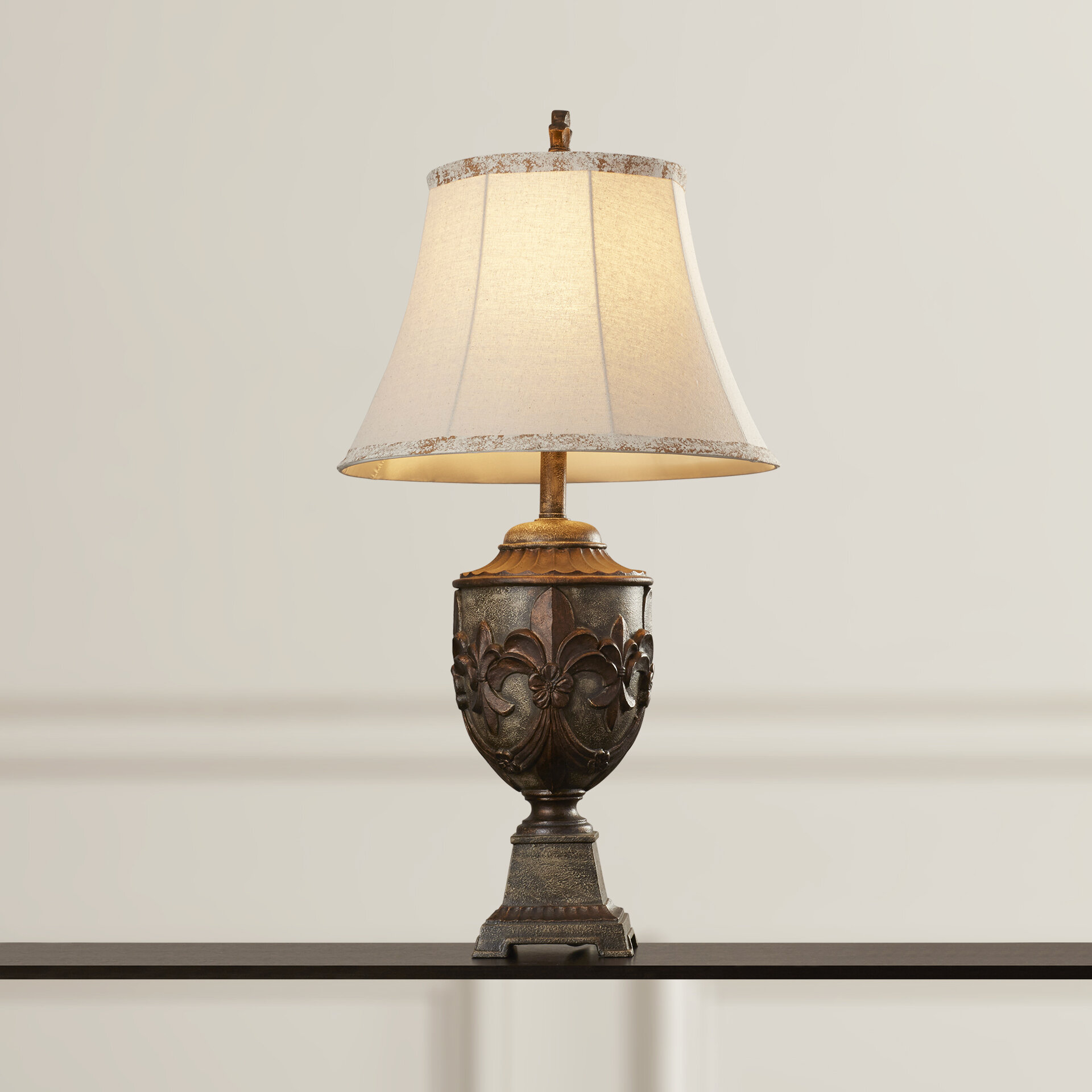 Fleur de lis living lora 32 table lamp reviews wayfair