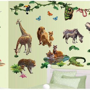 Jungle Adventure Wall Decal