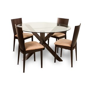Milan 5 Piece Dining Set by Wholesale Furniture Imports