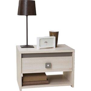 Nachttisch Dinkel mit Schublade von Home Etc