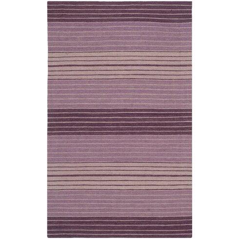jefferson lilac striped purple area rug