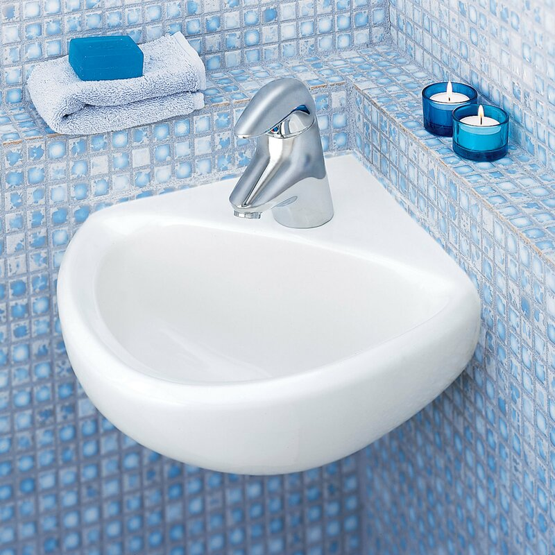 American Standard Minette Ceramic Specialty Wall-Mount Bathroom Sink ...