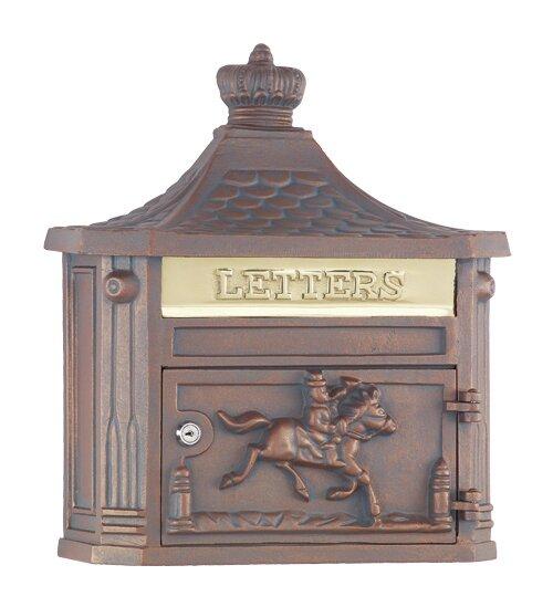 Amco Mailboxes Victorian Locking Wall Mounted Mailbox