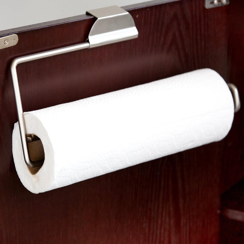 Rebrilliant Over The Door Paper Towel Holder Reviews Wayfair