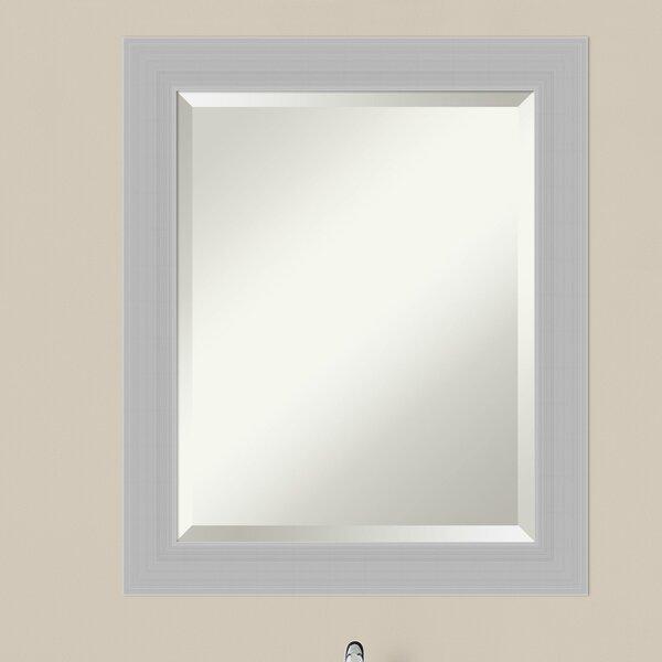 Wood Frame Bathroom Mirror | Wayfair