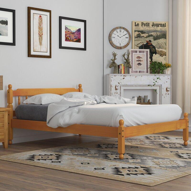 Union Rustic Bartlesville Bed Frame Amp Reviews Wayfair Co Uk