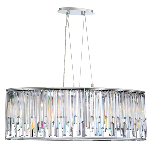 Refined sleek chandelier wayfair