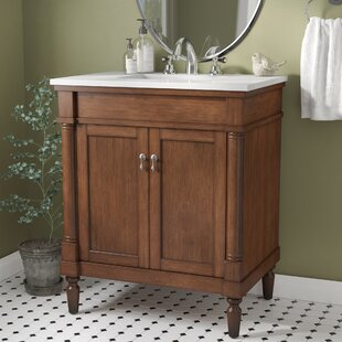Navy Bathroom Vanity | Wayfair
