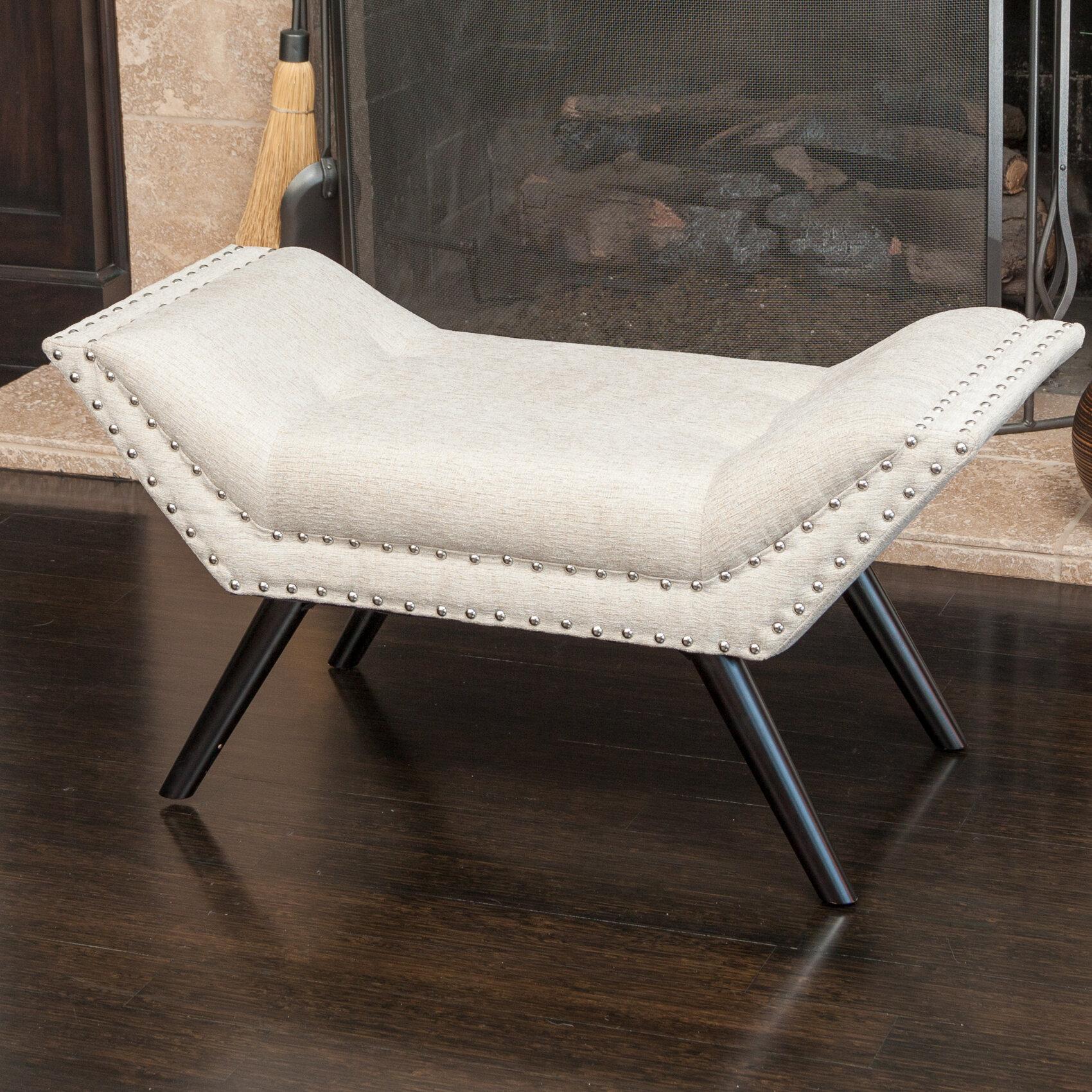 Saint Georges Upholstered Bedroom Bench