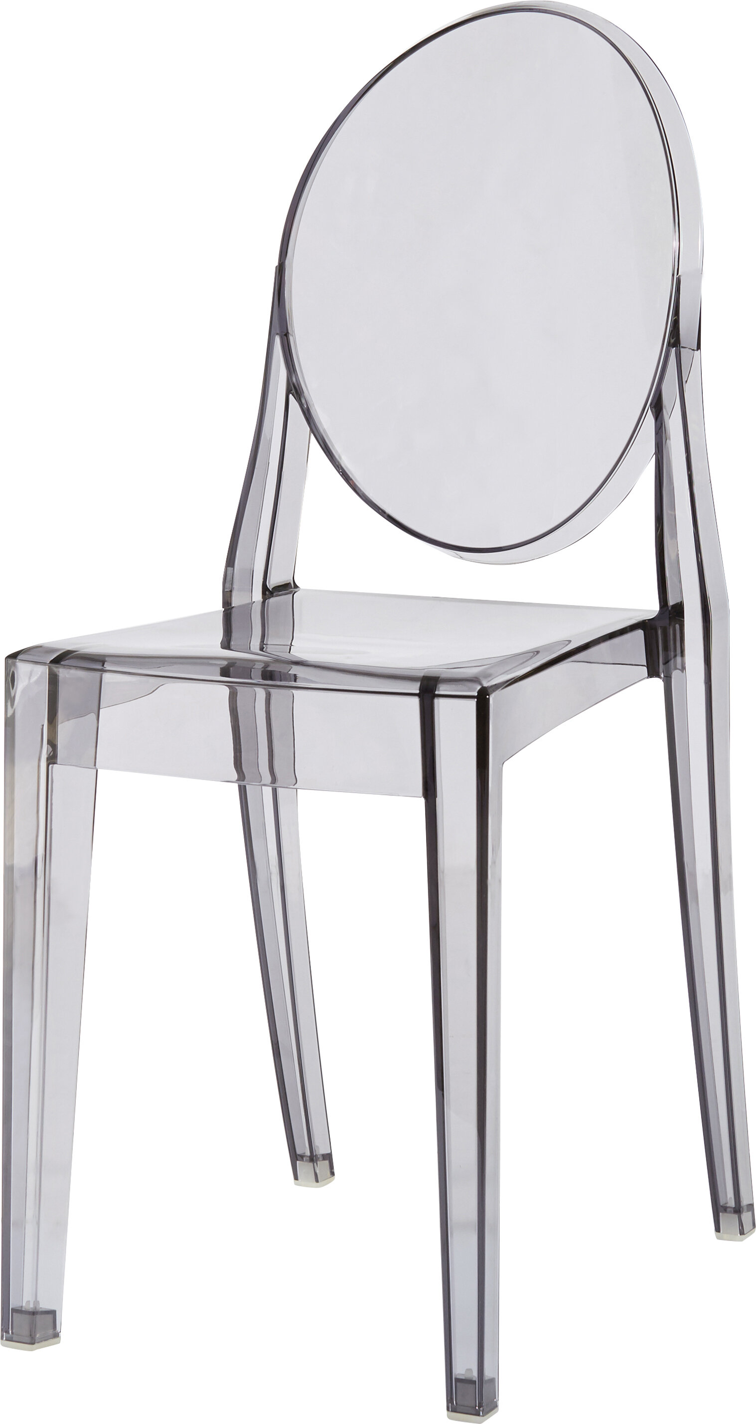 Kartell Ghost Victoria Stacking Patio Dining Chair | AllModern