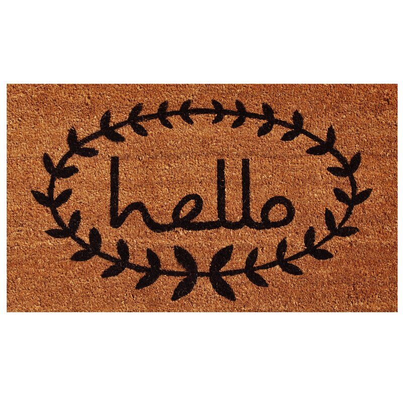 Well-known Door Mats You'll Love | Wayfair FX45