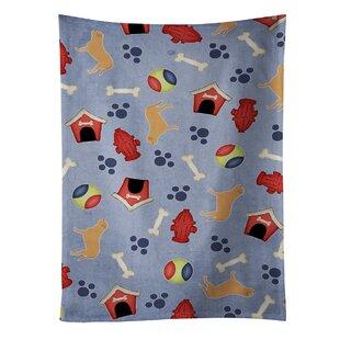Dogue De Bordeaux Dog House Dishcloth