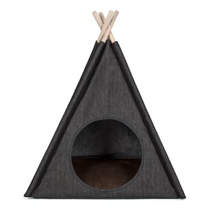 Charlene Urban Denim Teepee Tent Dome  sc 1 st  Wayfair & Dog Teepee Tents | Wayfair