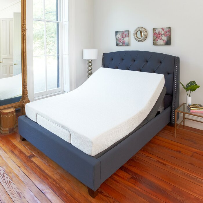 bed is adjustable memory electric loading sizes all itm mattress image headboard foam s beds matching