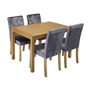 Oakridge Dining Set With 4 Chairs
