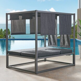 Diller Patio Daybed With Cushions