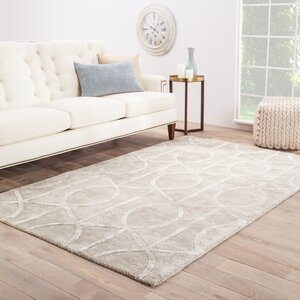 Byrd Hand-Tufted Gray Area Rug