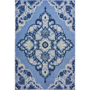 Sattler Blue/Gray Indoor/Outdoor Area Rug