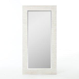 Antique White Floor Mirror | Wayfair