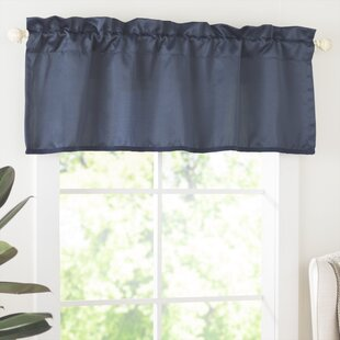 Window Valances Cafe Kitchen Curtains You Ll Love Wayfair