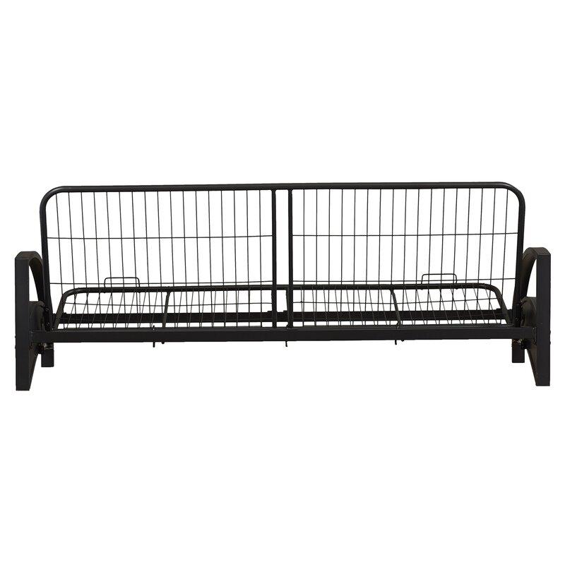metal futon frame three posts metal futon frame  u0026 reviews   wayfair  rh   wayfair