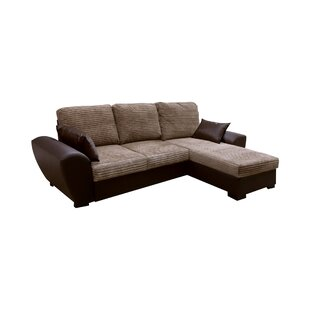 Gianni Reversible Sleeper Corner Sofa Bed