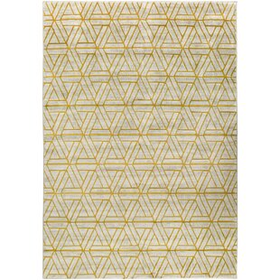 Ginsberg Yellow Area Rug