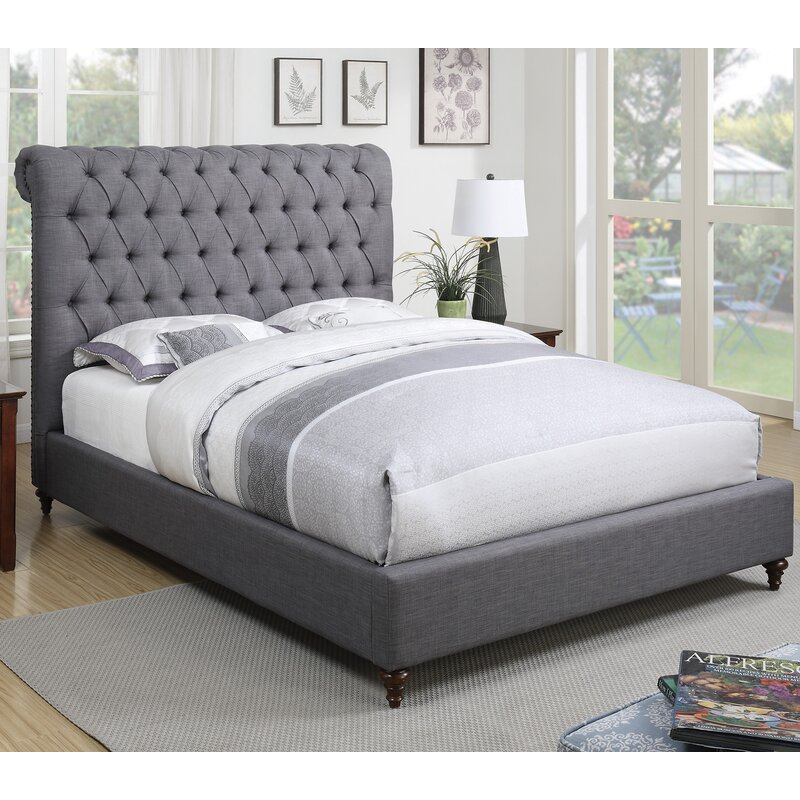 Jarratt Upholstered Panel Bed Reviews Joss Main