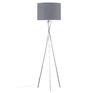 Floor lamp with grey shade wayfair save aloadofball Choice Image