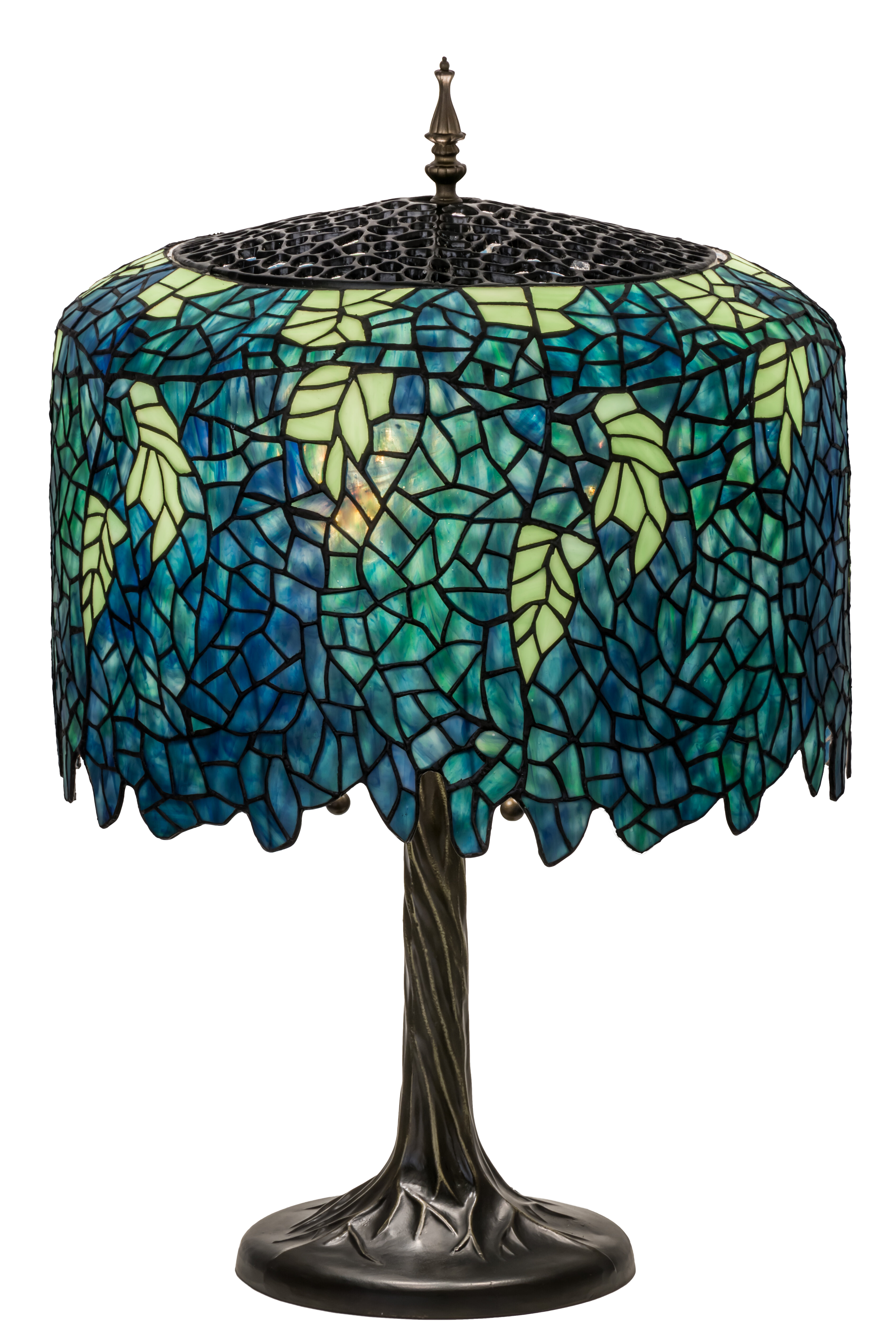 Meyda tiffany wisteria tiffany 28 table lamp wayfair mozeypictures Image collections