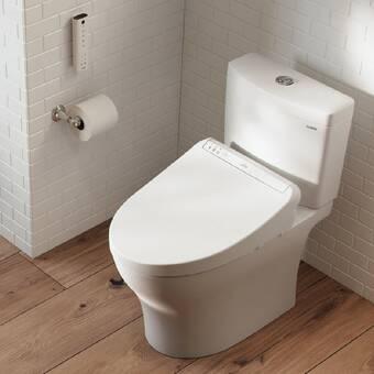 Toto Washlet C200 Elongated Toilet Seat Bidet Reviews Wayfair