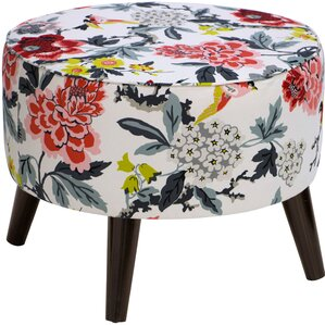 Avis Round Ottoman with Splayed Legs by Lati..