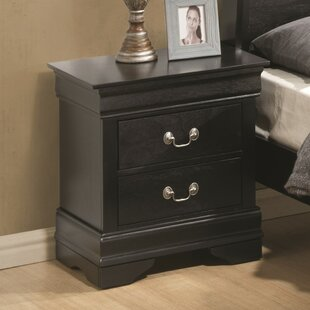 Black Nightstand Set Of 2 | Wayfair