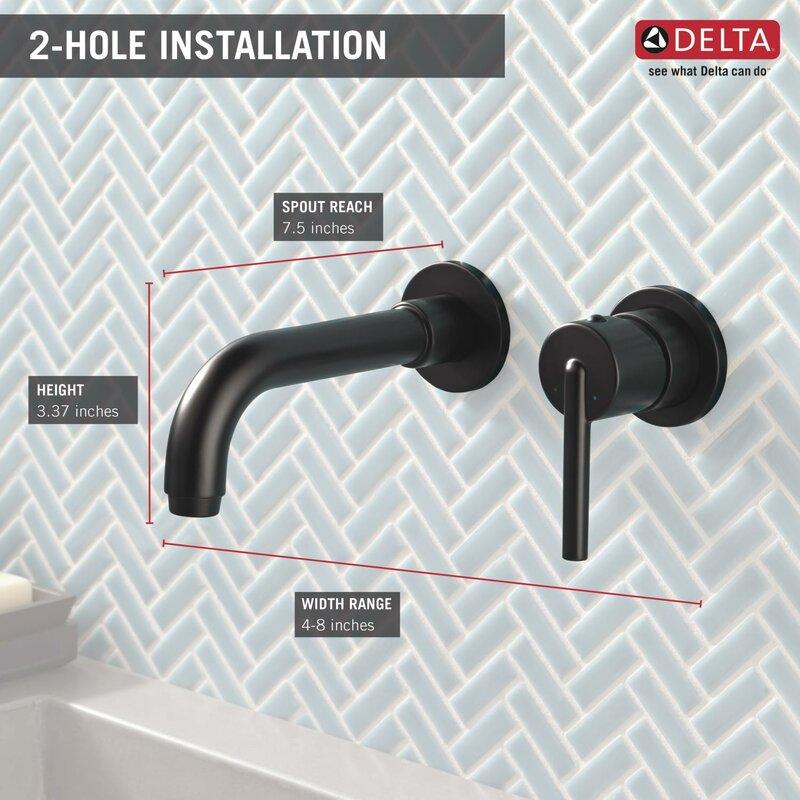 Bon Trinsic® Wall Mounted Bathroom Faucet