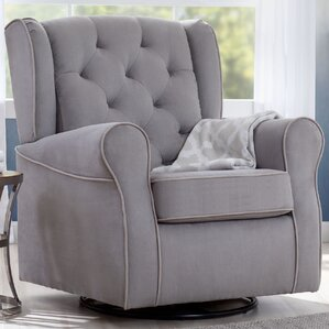 emerson nursery swivel glider