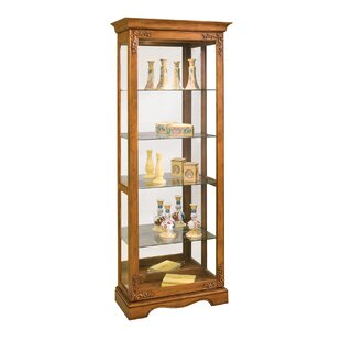 Andante II Lighted Curio Cabinet