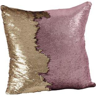Lovely Sequin Mermaid Pillow | Wayfair TD96
