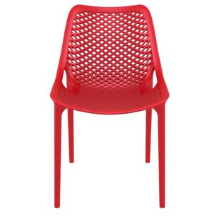 modern red outdoor dining chairs allmodern rh allmodern com red patio chairs folding red patio chair seat cushions