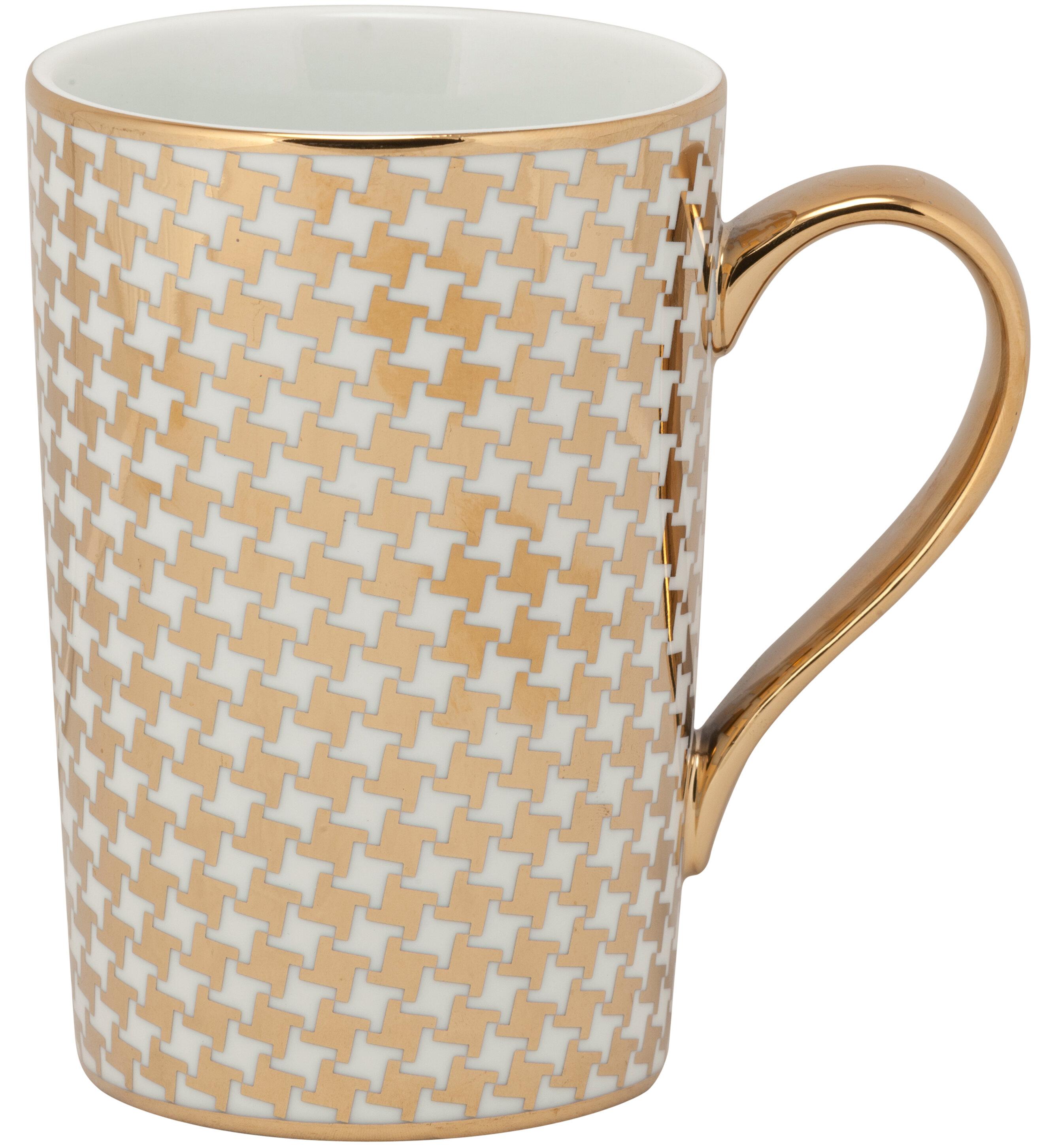Latitude Run Noe Houndstooth Mug | Wayfair